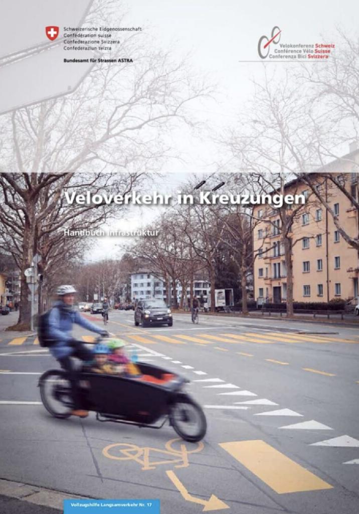 Titelbild Veloverkehr in Kreuzungen